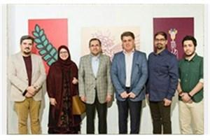 افتتاح نمایشگاه گرافیک با حضورمعاون وزارت امور خارجه