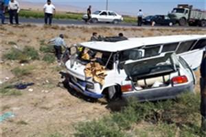 آخرین وضعیت مصدومان تصادف مینی بوس و پراید در مشهد/ وضعیت وخیم دو نفر