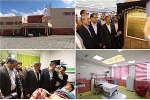 بیمارستان 70 تختخوابی امام حسین(ع) شهرستان هریس به بهره برداری رسید
