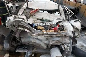 ۱۴ مجروح و سه کشته در تصادفات ۲۴ ساعت گذشته