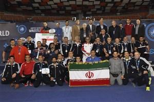 پیشکسوتان کشتی آزاد ایران قهرمان جهان شدند