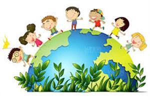 مراسم روز ملی «کودک و محیط زیست»/کاشت گل در بطریهای دور ریختنی
