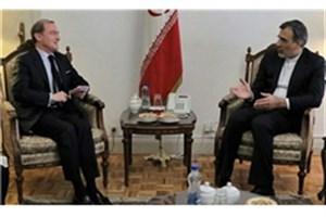 تاکید ایران و فرانسه بر همکاری در جهت حل سیاسی بحران سوریه