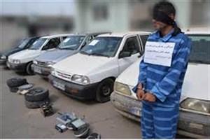 دستگیری سارقان داخل خودرو با 100 فقره سرقت در پایتخت