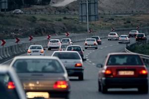 ترافیک نیمه سنگین در 2  محور/آخرین وضعیت جوی و ترافیکی جاده های کشور