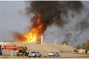 آتش زدن میادین نفتی کرکوک