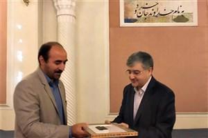 مراسم تودیع و معارفه مدیر موزه های فرهنگی دانشگاه تهران برگزار شد