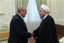 دیدار وزیر خارجه ازبکستان با دکتر روحانی