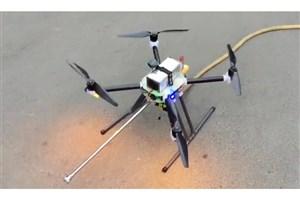 شستوشوی آزمایشی مقره خطوط انتقال برق به وسیله رباتهای پرنده