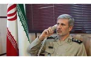 تأکید وزرای دفاع ایران و روسیه بر تداوم هماهنگی در مبارزه علیه خشونت، تروریسم و افراطی گری