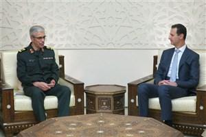قدردانی بشار اسد از حمایتهای رهبر انقلاب و دولت