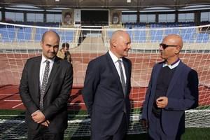بازدید سفیر آلمان از ورزشگاه امام رضا