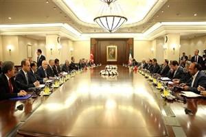 تاکید بر استفاده ایران و ترکیه از همه ظرفیت های برای توسعه روابط