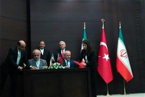 امضای دو سند همکاری در زمینه علوم و فناوری بین ایران و ترکیه