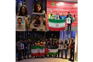اعلام بیعت جوانان فلسطینی، سوری و لبنانی با آرمانهای انقلاب