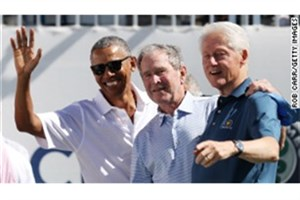 حمله بوش و اوباما به دونالد ترامپ
