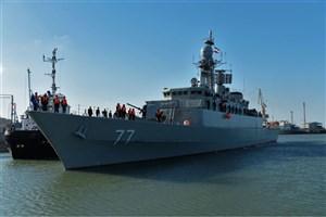 ناوگروه نیروی دریایی ارتش در ماخاچ قلعه روسیه پهلو گرفت