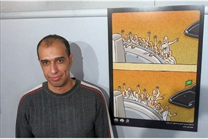 هنرمند کاریکاتوریست: نمایشگاه «خلیج همیشه فارس» پاسخ مناسبی برای سخنان ترامپ بود