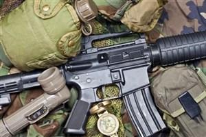 کشف سلاح های آمریکایی داعش  در البوکمال