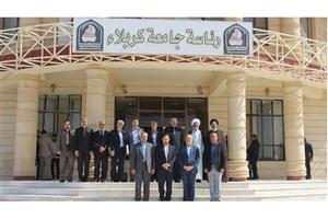 دیدار روسای 3 دانشگاه ایران و رییس دانشگاه کربلا