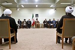 دیدار دستاندرکاران کنگره بزرگداشت آیتالله سید مصطفی خمینی با مقام معظم رهبری