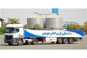 اعتراض کارگران حمل ونقل بین المللی خلیج فارس(گندم و آردایران ) + عکس