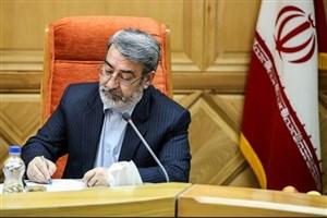 وزیر کشور: هیچ کس حق ندارد در این وزارتخانه جنس خارجی مصرف کند