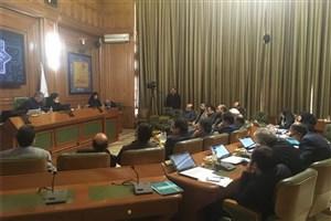 دیدار صبحگاهی چند تن از اعضای شورای شهر تهران با نجفی