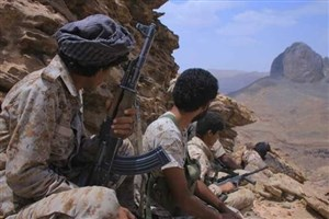 مزدوران صعودی زیر آتش نیروهای مردمی و ارتش یمن