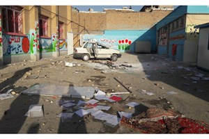 بازسازی دومدرسه آسیب دیده از اغتشاشات منطقه اسلام آباد ارومیه