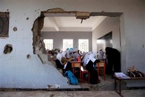 حملات هوایی عربستان به مدارس یمن