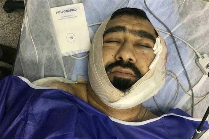 وضعیت طلبه مصدوم تهرانی