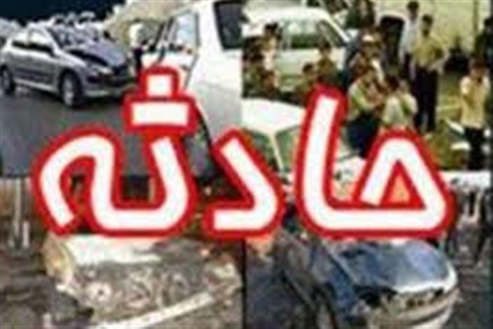 واژگونی اتوبوس کرمان - تهران با ۵ کشته
