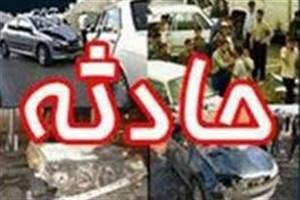 9 مصدوم در حادثه رانندگی محور رفسنجان - کرمان
