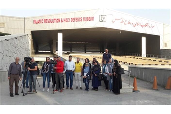 استقبال رسانه های لبنان از موزه انقلاب اسلامی و دفاع مقدس