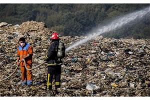 اعتراض مردم به انباشت زباله در سراوان