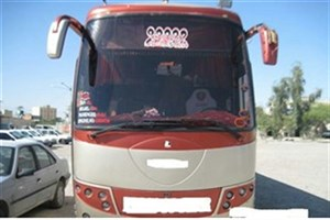 اتوبوس حامل پوشاک قاچاق در الیگودرز متوقف شد
