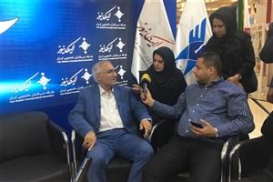 بازدید شهردار اصفهان از غرفه ایسکانیوز در نمایشگاه مطبوعات