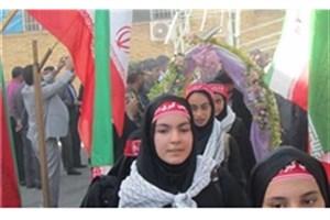 اعزام کاروان دانش آموزان دختر چابهاری به اردوی راهیان نور