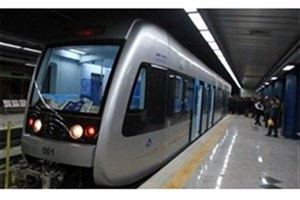 افزایش جابه جایی مترو با اضافه شدن 7 رام قطار جدید