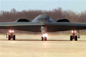 بمب افکن B-2  برفراز اقیانوس آرام اقدام به انجام ماموریت کرد