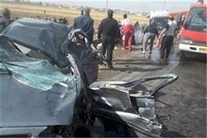 واژگونی ون حامل زائران ایرانی در عراق
