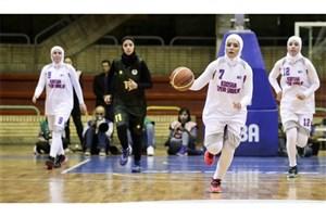 حریفان بسکتبال بانوان ایران مشخص شدند