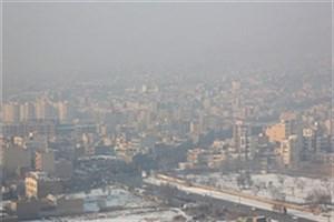 هوای پایتخت در شرایط ناسالم برای گروههای حساس/بیماران ،سالمندان و کودکان از خانه بیرون نروند