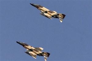 فرماندهان عالیرتبه ارتش و ستادکل در رزمایش نیروی هوایی حاضر شدند