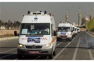 در حادثه برخورد تریلی با ون  18 زائر ایرانی کشته و مجروح شدند