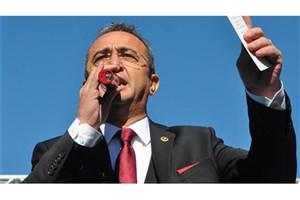 شکایت اردوغان از سخنگوی حزب اپوزیسیون