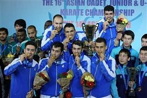 کاراته ایران دومین تیم برتر جهان معرفی شد