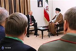 دیدار رئیس جمهوری روسیه با مقام معظم رهبری