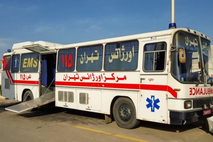 33 آمبولانس و اتوبوس آمبولانس هلال احمروارد خاک عراق شد